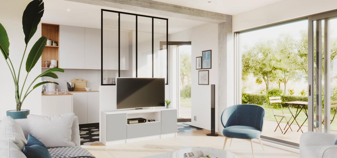meuble tv sur mesure le rangement