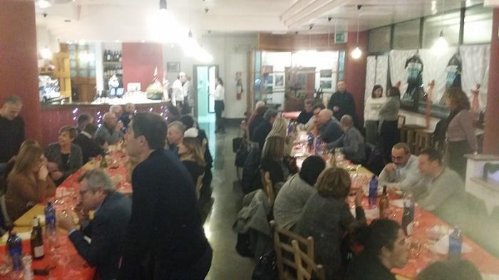 L'annuale Cena Del Tesseramento