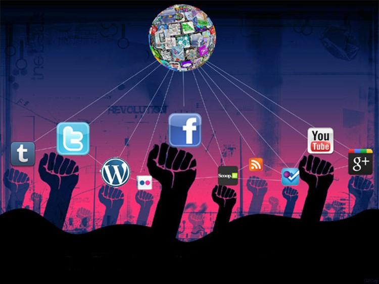 """Résultat de recherche d'images pour """"pictures of social media democracy"""""""