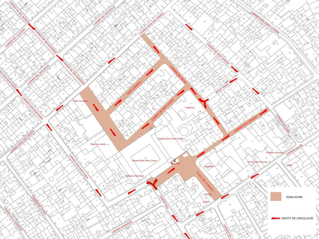 Manacor Inaugura Una Nova Zona Per A Vianants Al Centre De La Ciutat