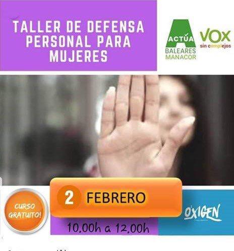 Vox I La Defensa Personal De Les Dones
