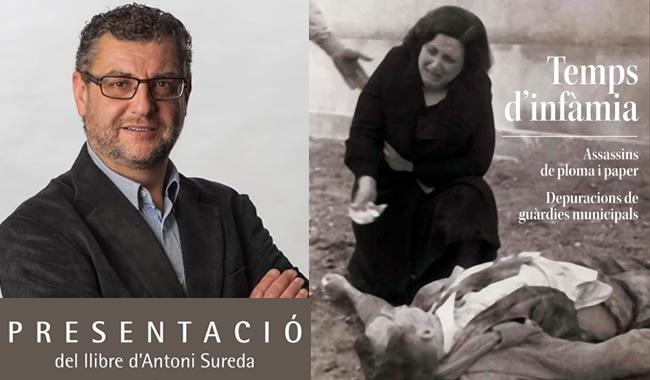 """Es Presenta """"Temps D'infàmia"""", D'Antoni Sureda Vicens"""