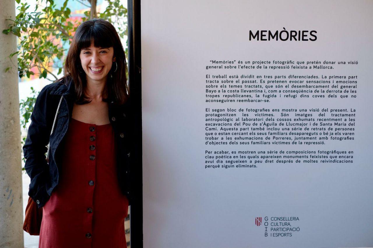 """L'artista Manacorina Marina Canovas Presenta L'exposició """"Memòries"""" A Porreres"""