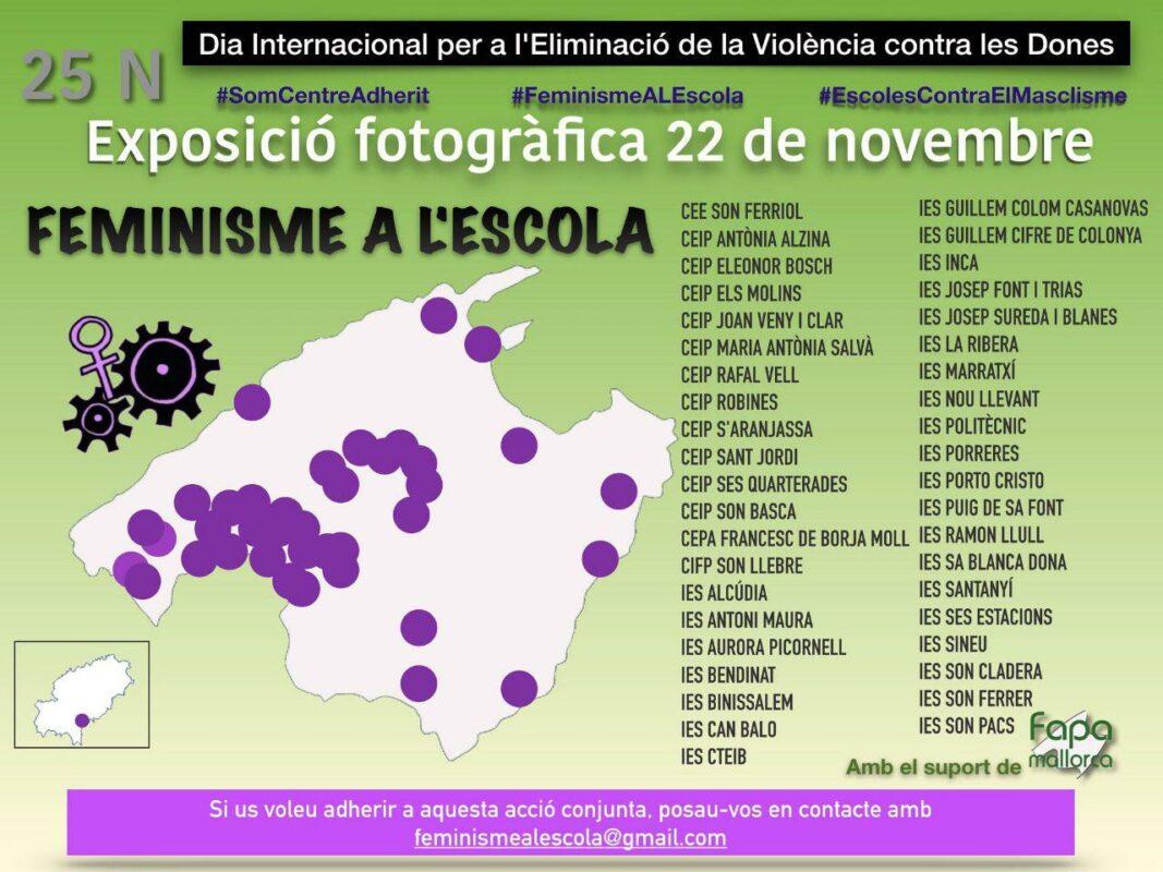 L'IES Porto Cristo Organitza Un Concurs Fotogràfic Per Visibilitzar I Prevenir Les Violències Masclistes