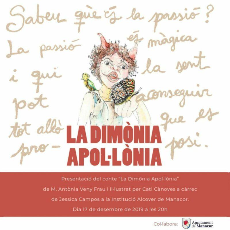 """Maria Antònia Veny I Cati Cànoves Presenten El Conte  """"La Dimònia Apol·lònia"""""""
