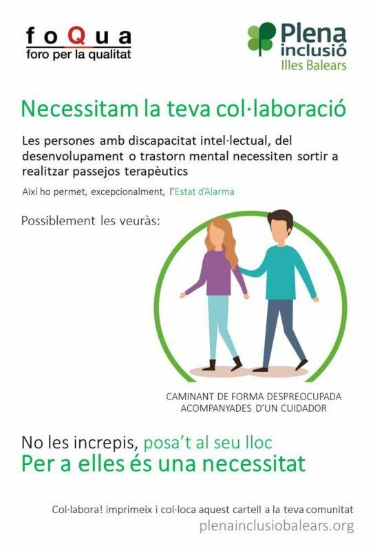 Aproscom Demana Respectar Les Persones Que Necessiten Passejos Terapèutics