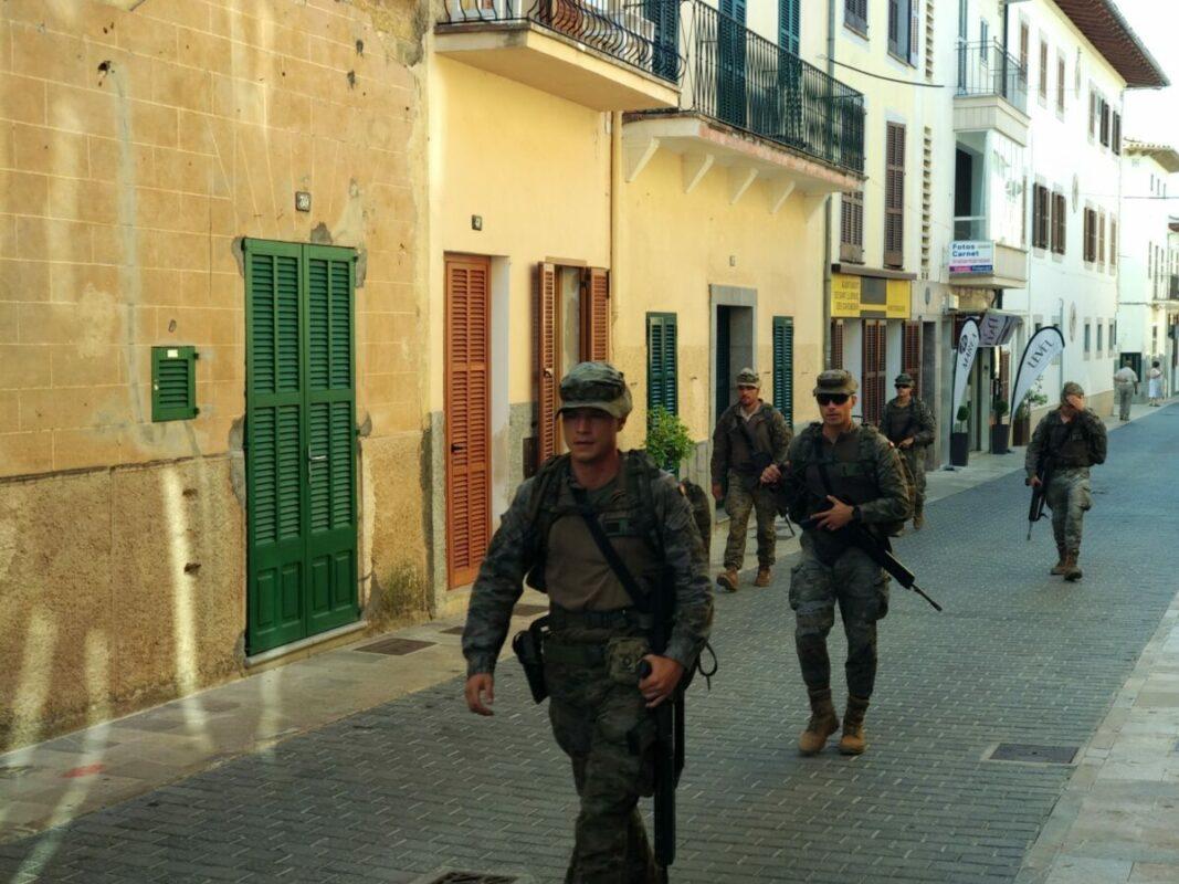 L'exèrcit A Sant Llorenç