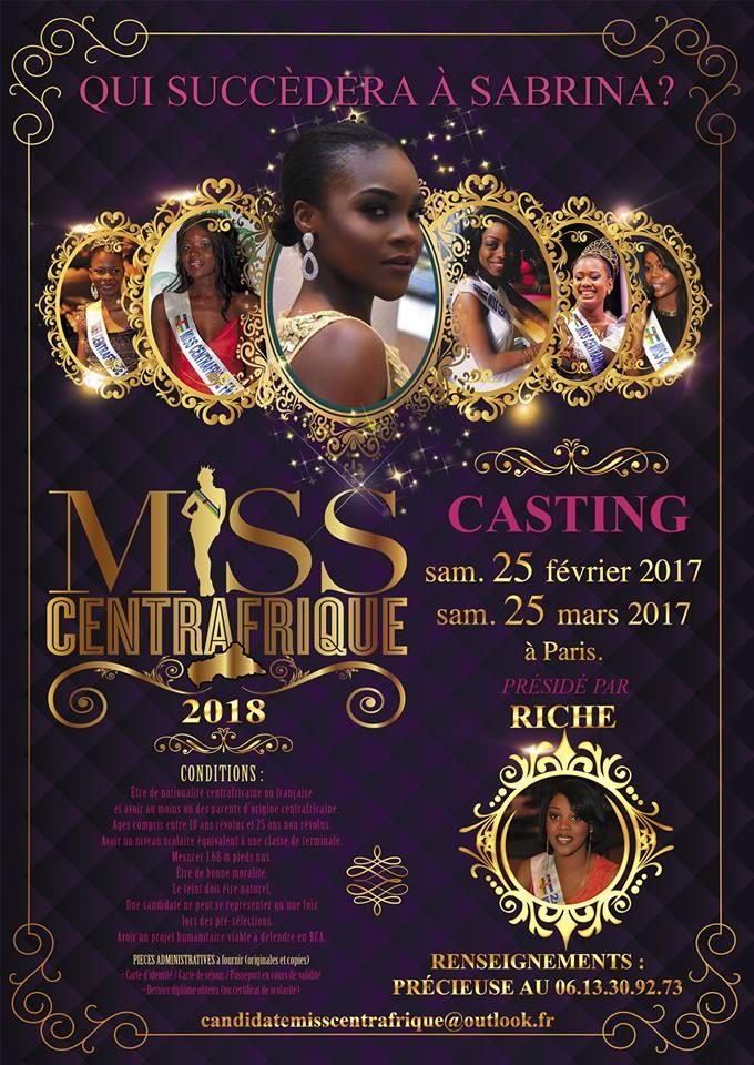 Miss Centrafrique 2018