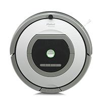 iRobot หุ่นยนต์ดูดฝุ่นอัจฉริยะ รุ่น Roomba 776p สีเทา
