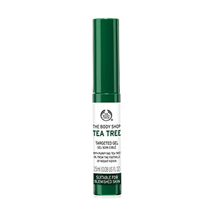 THE BODY SHOP เจลแต้มสิว Tea Tree Targeted Gel 2.5 ml.
