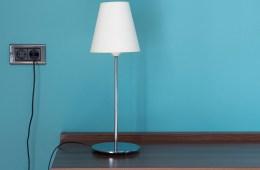 ไอเดียการจัดโคมไฟตั้งโต๊ะ