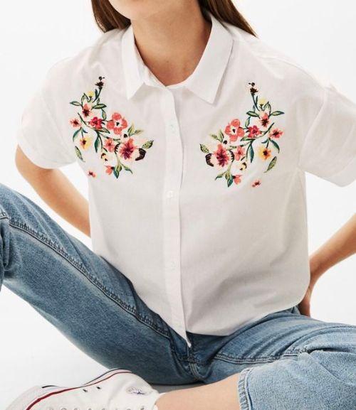 Embroidery Fashion_เสื้อคอปกลายปัก