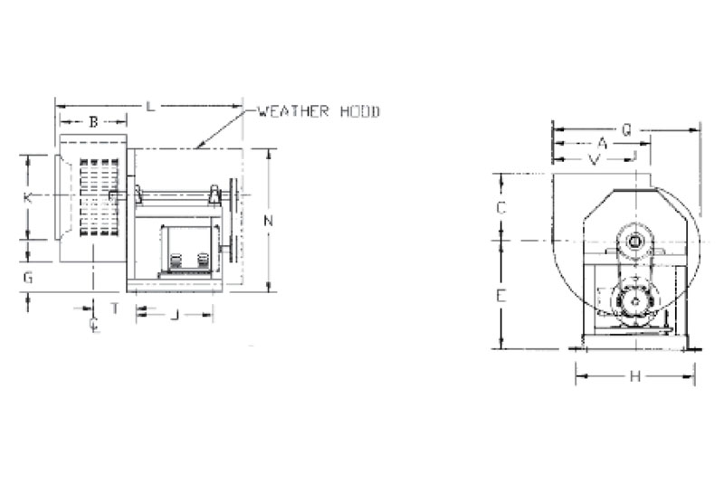 Blowers and Wheels for Restaurant and Lab Exhaust