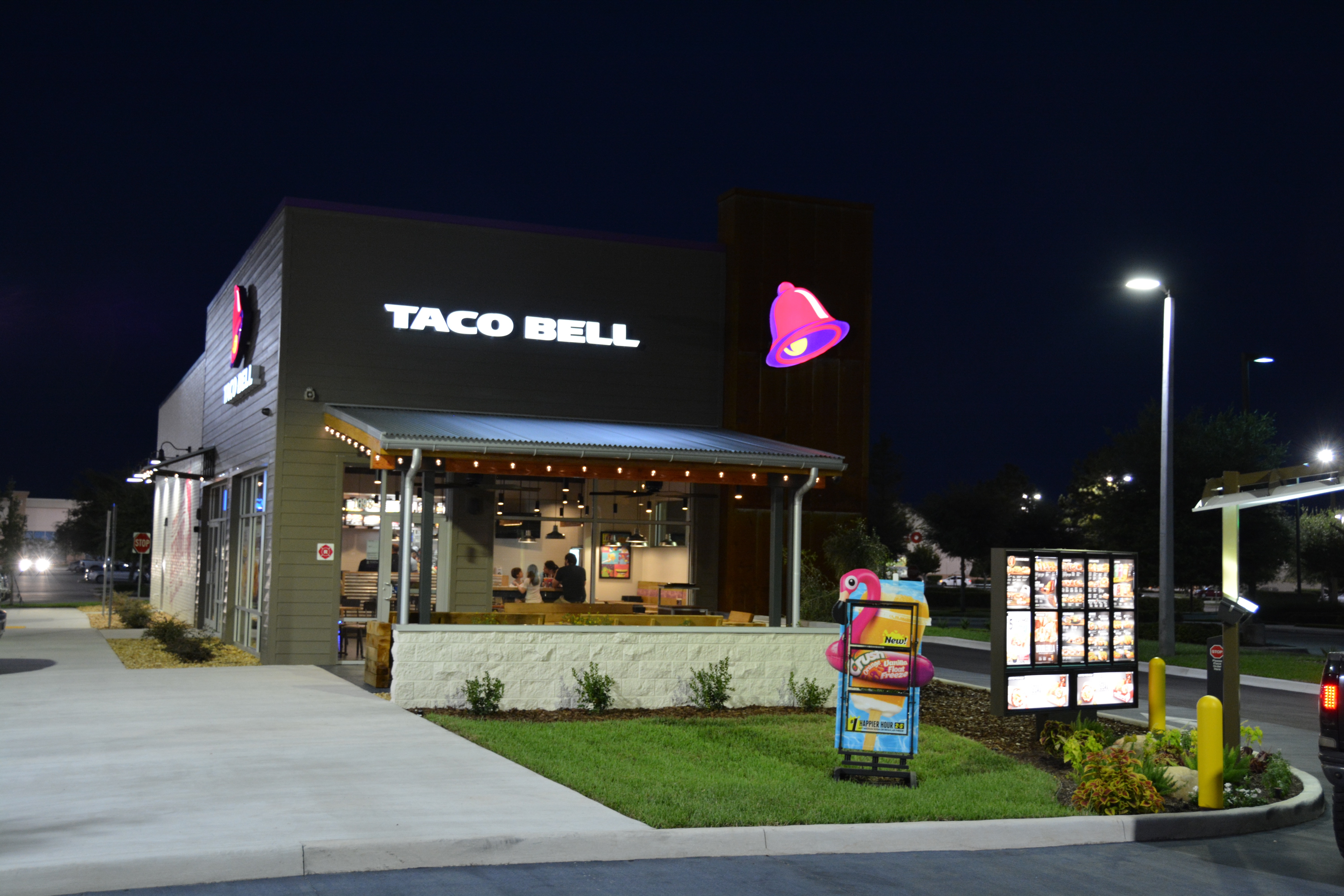 exhaust fans for kitchen island black taco bell restaurant – central contractors state certified ...