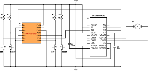 small resolution of controller motor h bridge 556