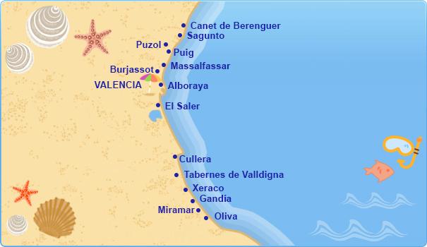 Hoteles en Costa Valenciana Costas Mediterrneas Espaolas  Tu Hotel en centraldereservascom