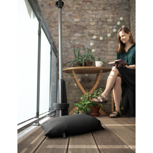 baser pied pour parasol de balcon anthracite de o20 a 40 mm 50 kg