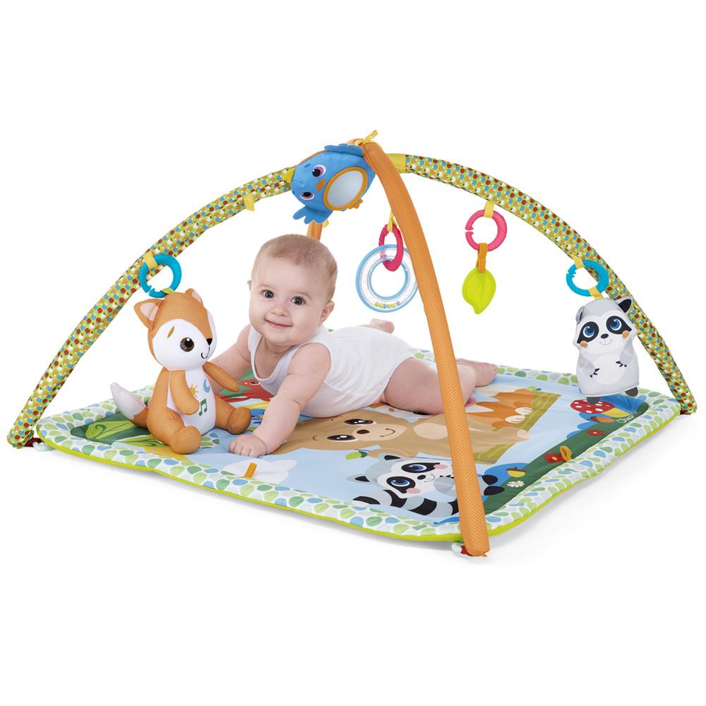 tapis d eveil bebe gym de la foret