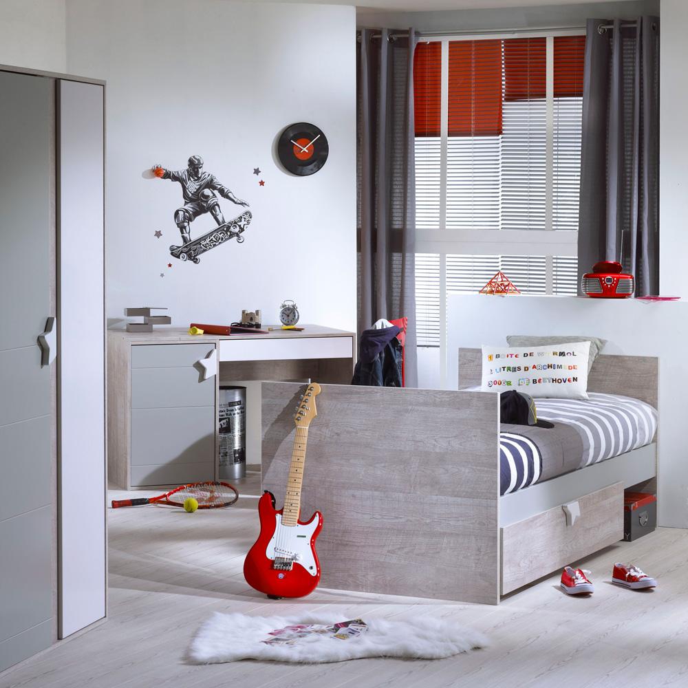 Lit bb 70x140 volutif 90x200 et140x200 nova de Sauthon meubles sur allobb