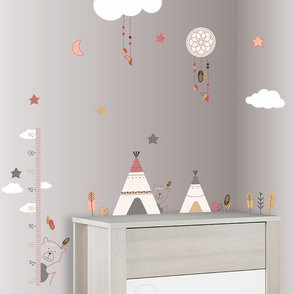 Stickers chambre bb timouki de Sauthon baby deco sur allobb