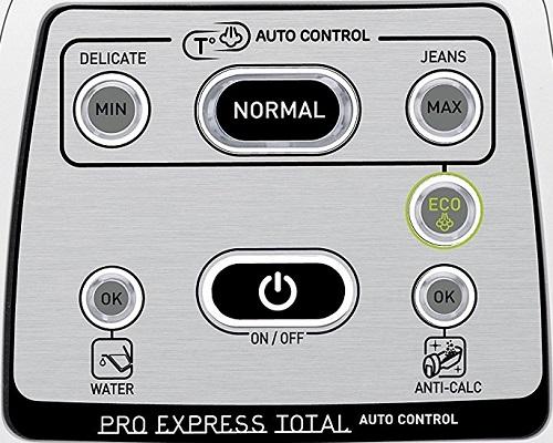 Centrale vapeur - Calor Pro Express GV8931C0 - Commandes