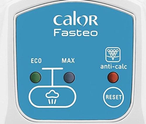 Centrale vapeur - Calor Fasteo SV6010C0 - Commandes