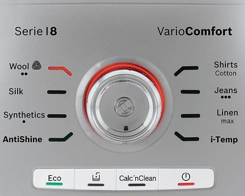 Centrale vapeur - Bosch TDS8060 - Commandes