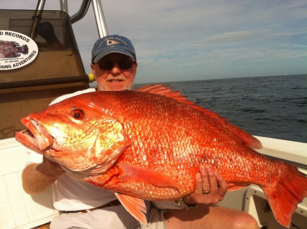 Red Snapper fishing out of Cape Canaveral makes for an awesome day on the water