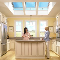 Kitchen Skylights Wenge Wood Cabinets Orlando Clear Vue