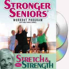 Chair Gym Exercise Book Mainstays Outdoor Rocking Black Senior Citizen Dance And Videos Dvds Books