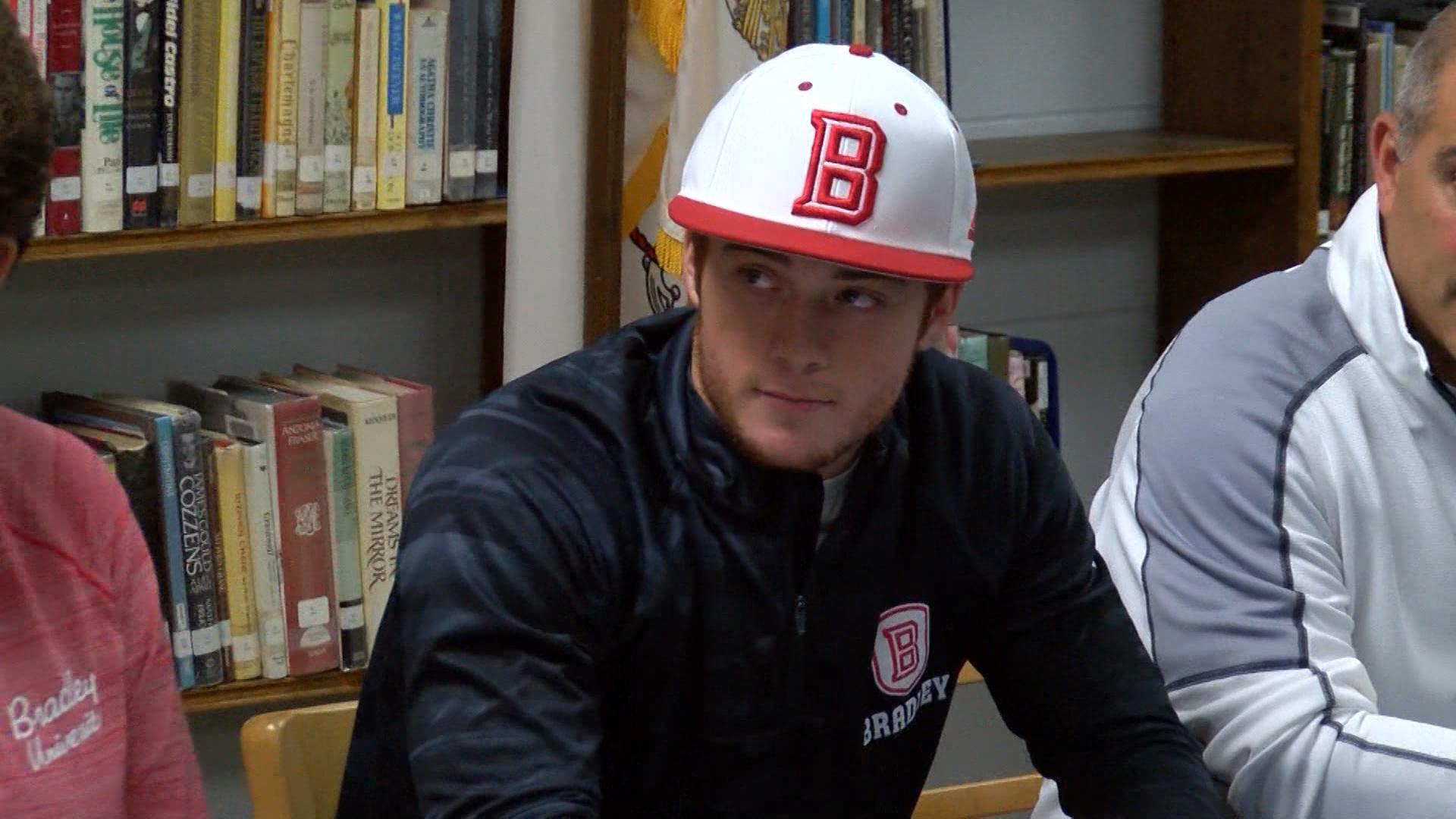 Luke Shadid Bradley Baseball