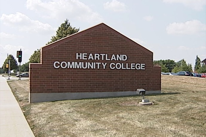 Heartland Community College Facade_6632418827621846475