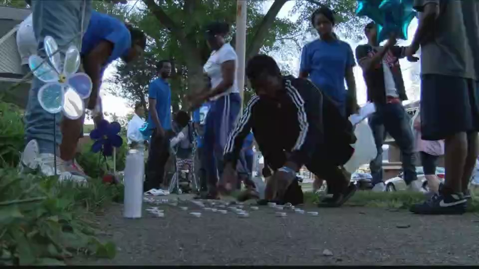 Bloomington Stabbing Homicide Vigil