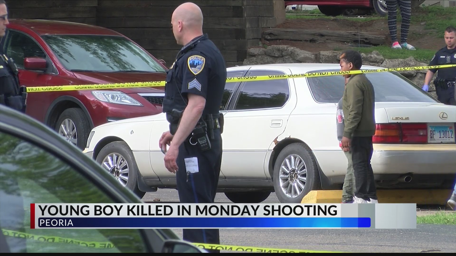 Young boy shot and killed