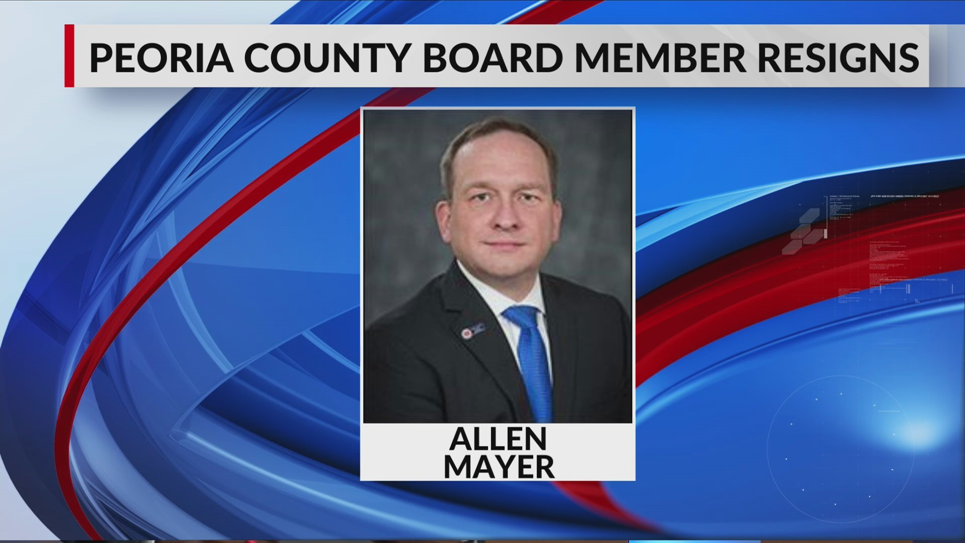 allen Mayer resigns