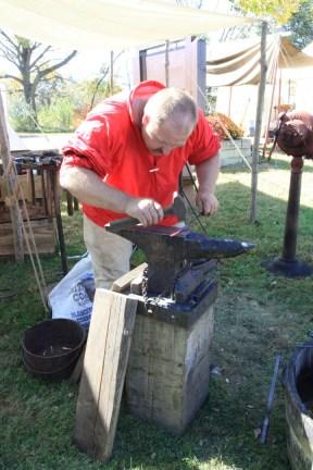 The village blacksmith (2)