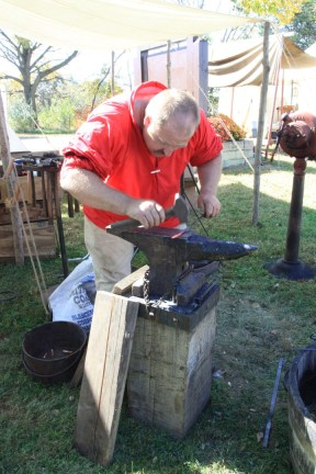 The village blacksmith (2)