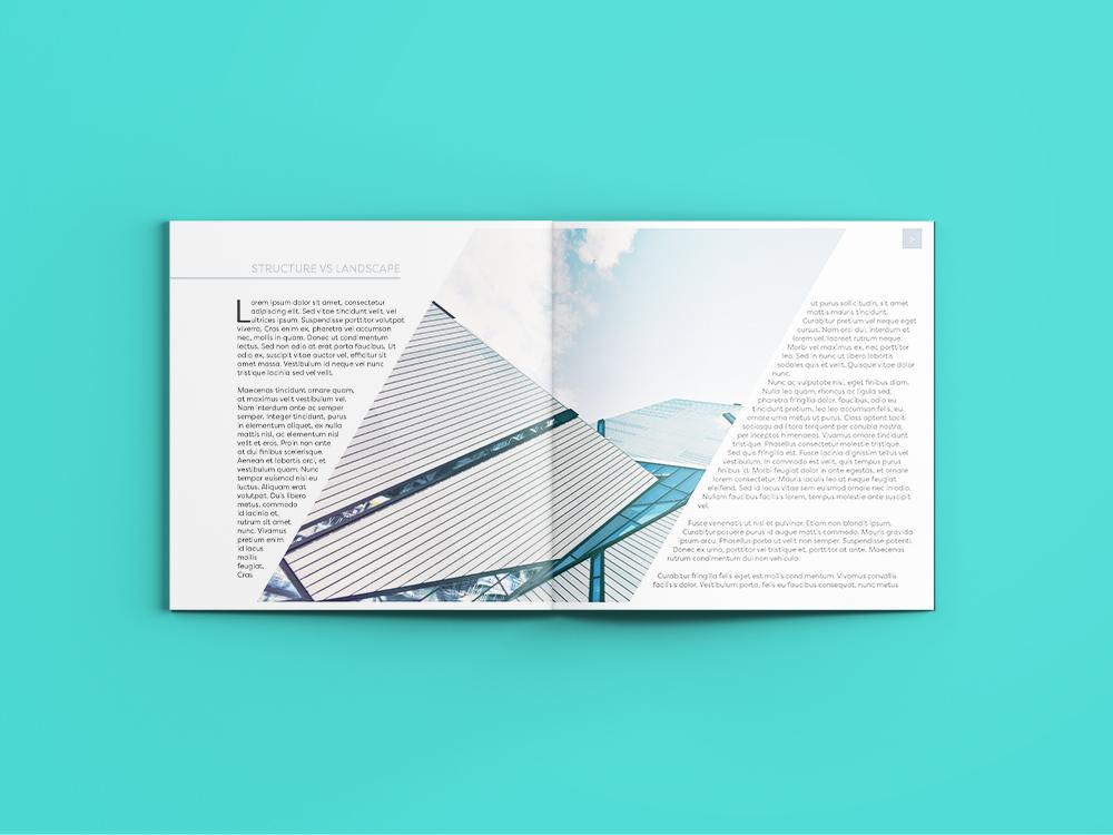 Cut out collage architecture magazine Design services