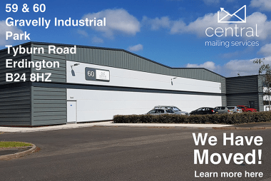 Central Mailing Services New Site at Gravelly Industrial Park