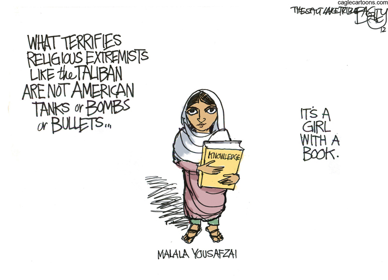 Pat Bagley, Salt Lake Tribune, October 2012