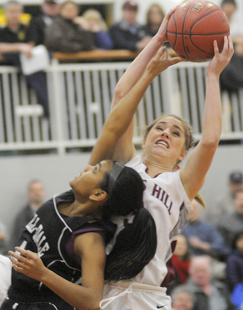 HIGH SCHOOL GIRLS BASKETBALL Kents Hill turns back HallDale with late surge  Central Maine