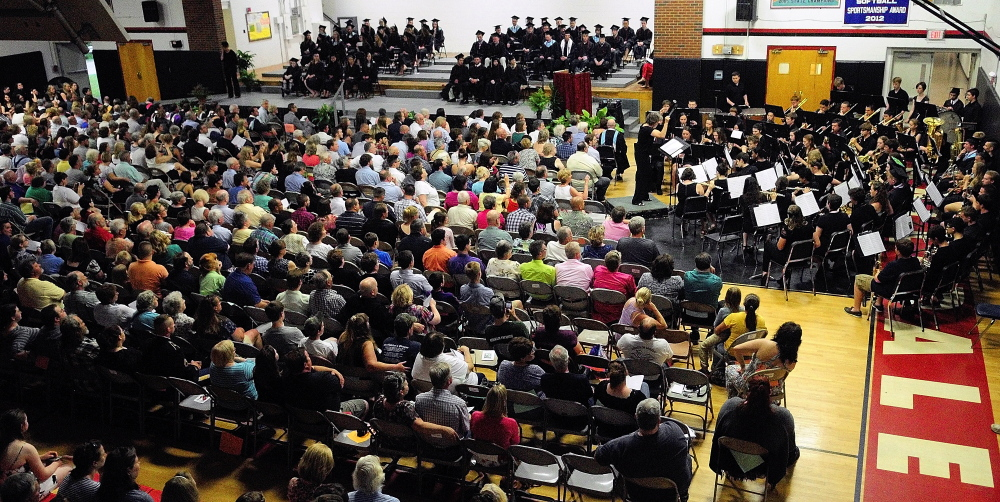 HallDale graduates 56 students in 2014 class  Central Maine