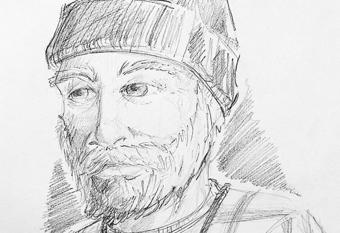 Hallowell police release sketch of reported Vaughan Woods