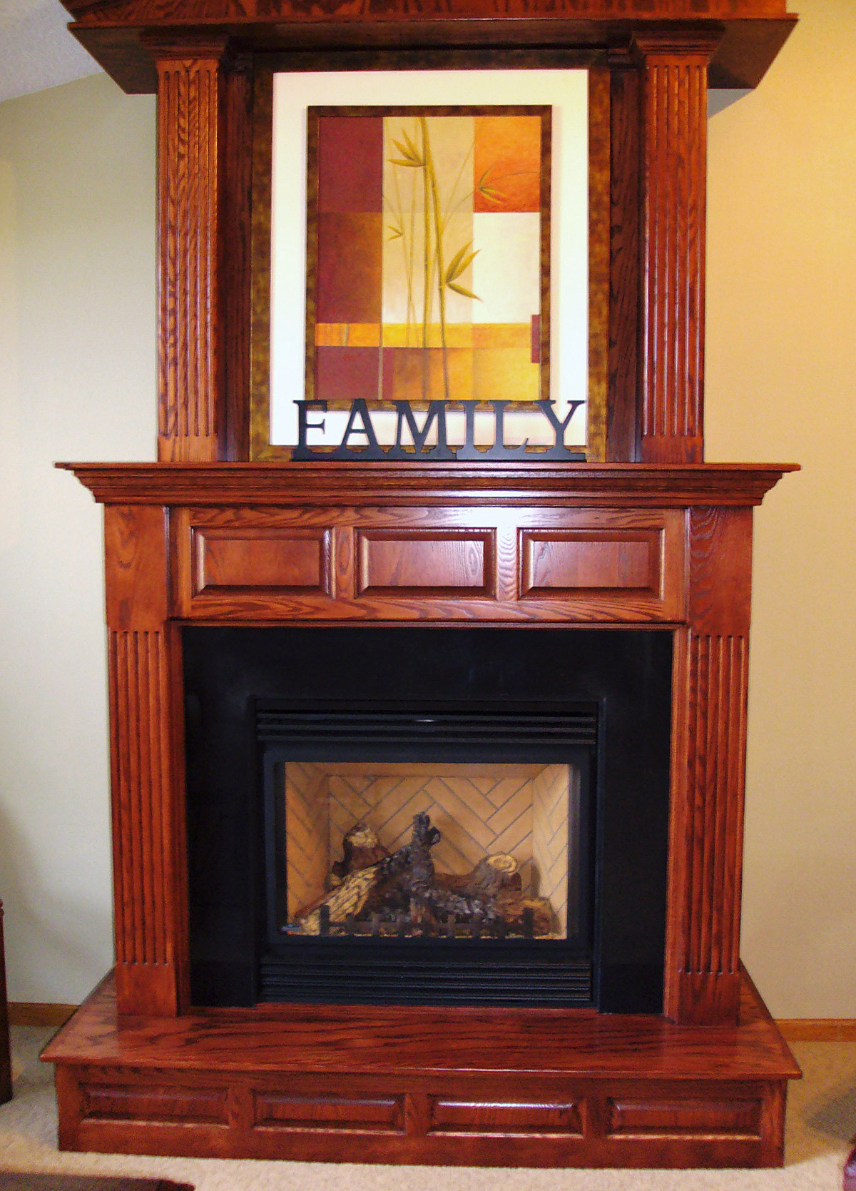 Custom Fireplace Surrounds  Cultured Marble Fireplace