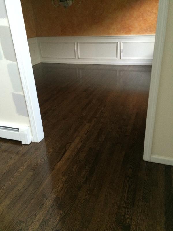 Refinishing Red Oak Hardwood Floors in Marlboro MA  Central Mass Hardwood Inc