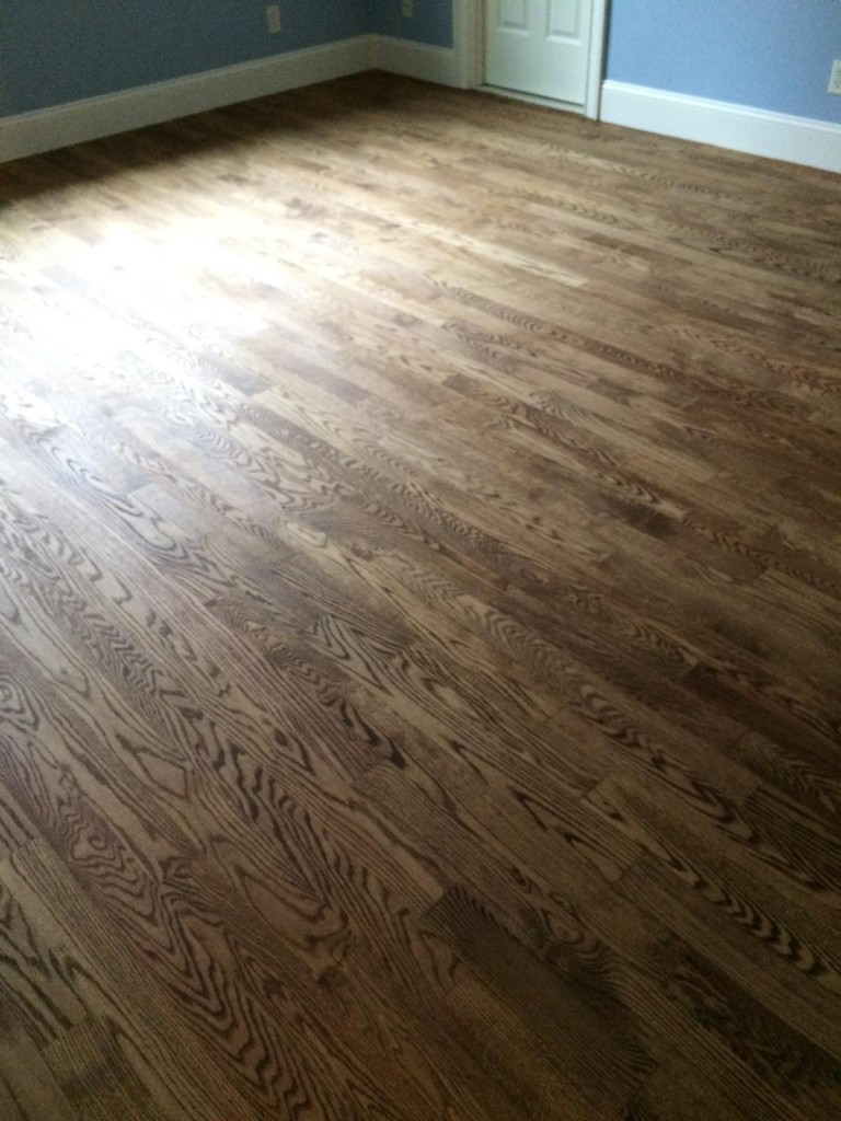 Resanding Red Oak Floors in Westboro MA  Central Mass