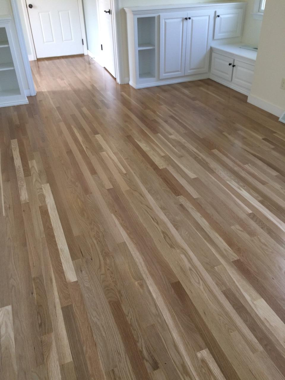 Sanding Amp Refinishing White Oak Floors In Westboro MA