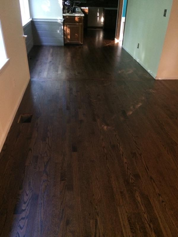 New Red Oak Hardwood Floors in Marlborough MA  Central