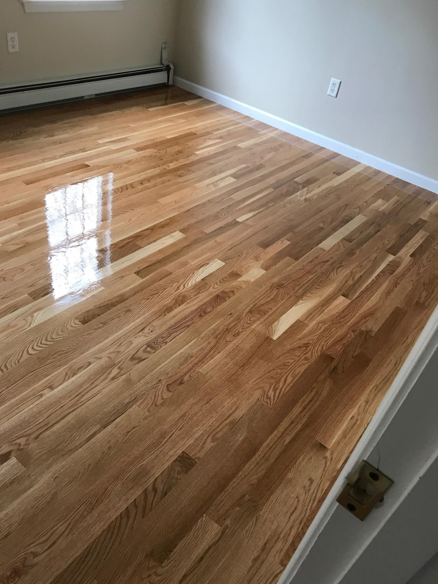Natural White Oak Hardwood Floors  Central Mass Hardwood Inc