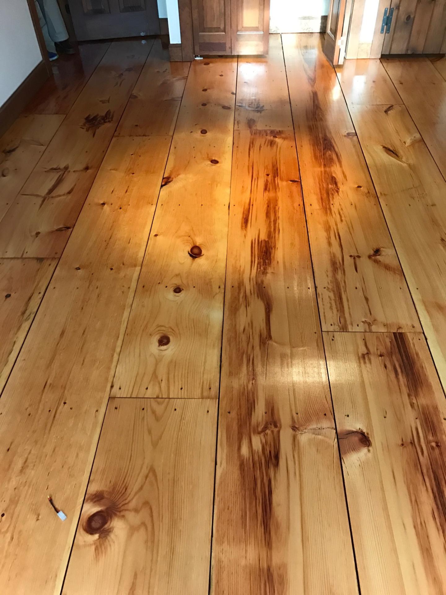 Eastern White Pine Hardwood Floors  Central Mass Hardwood